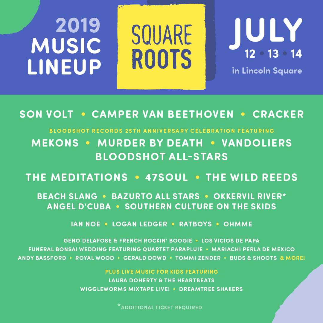 Square Roots Festival - Lincoln Square, Chicago - Music